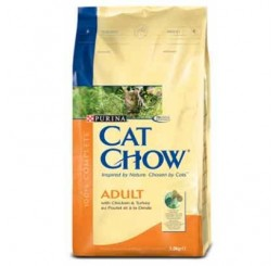 Cat Chow Adult Chicken&Turkey 15 kg