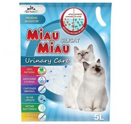 Asternut  Pisici MIAU MIAU Urinary Care Silicat 5L