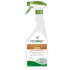 Spray Vet's Best, contra puricilor, capuselor si acarienilor, 500 ml